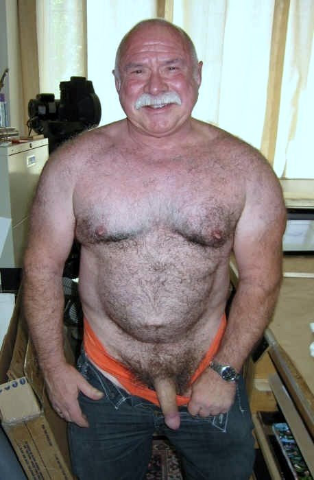 man silver Gay sex older