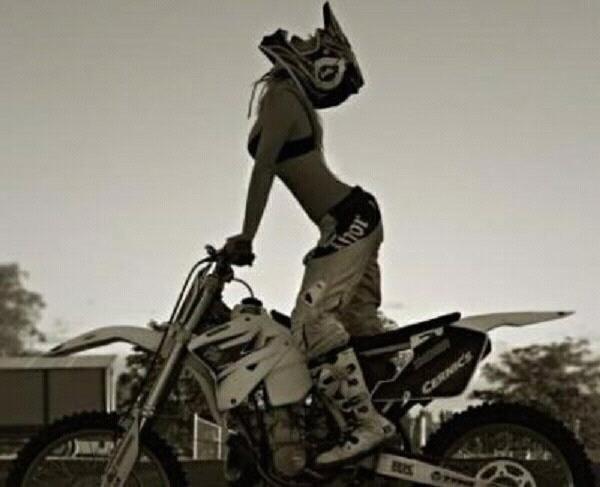 girl ass porn Dirt bike