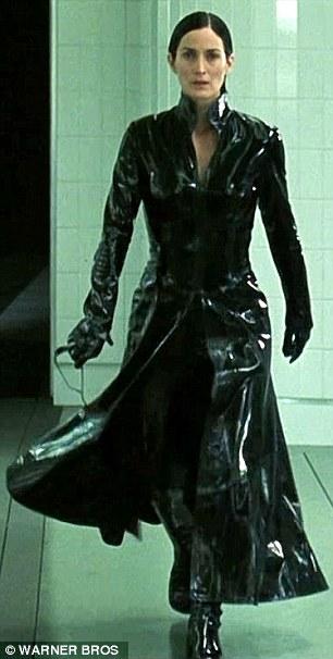 Trinity leather skirt sex