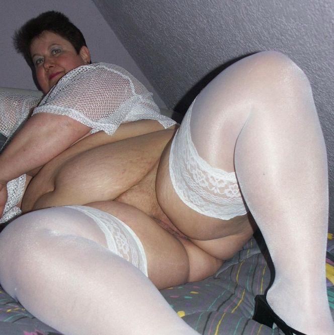Pantyhose bbw mature granny