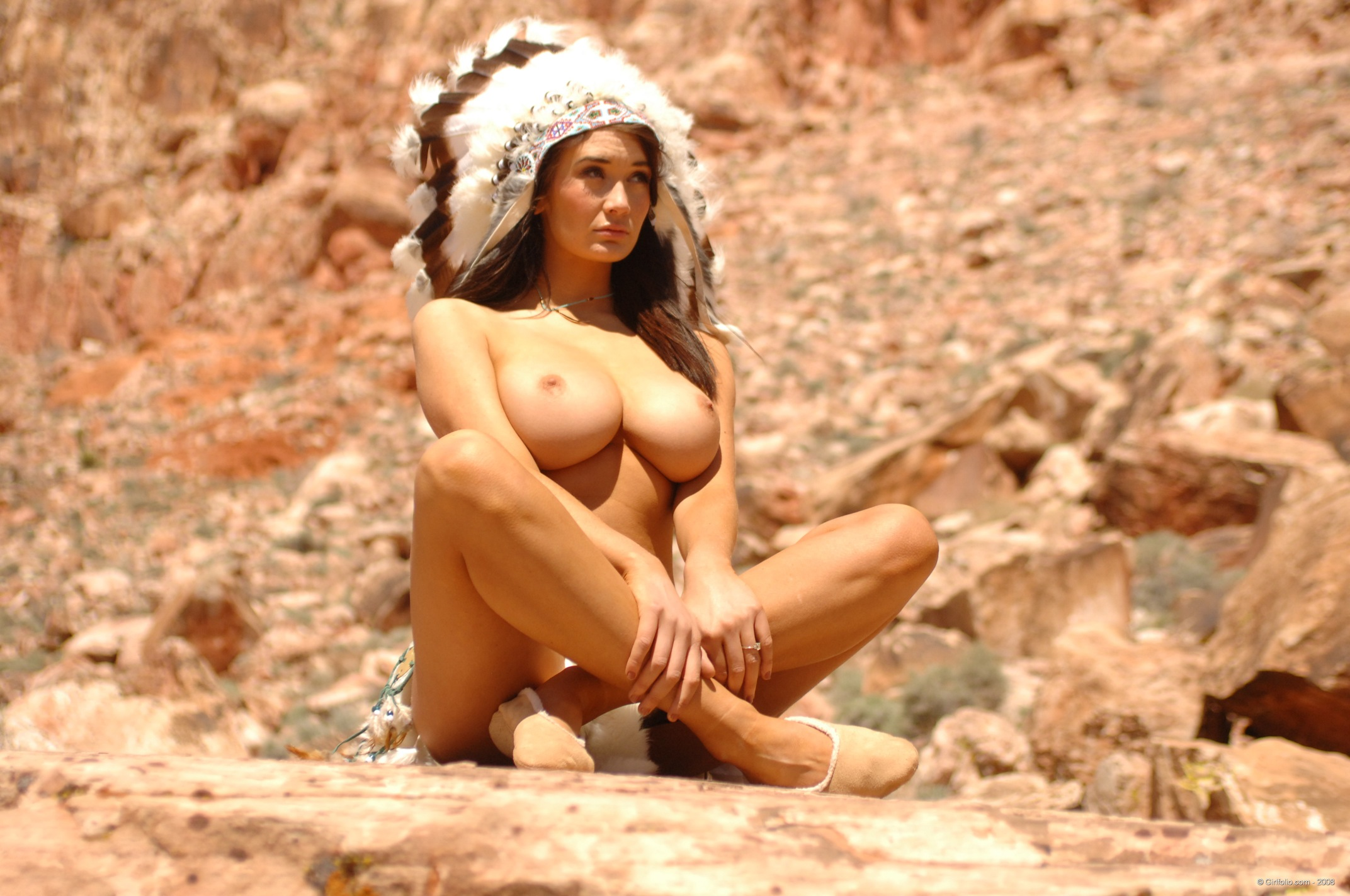 Native american indian nude