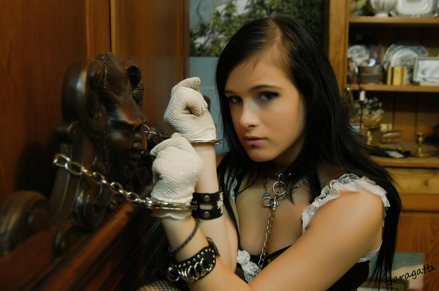 Soft girls in handcuffs and bondage