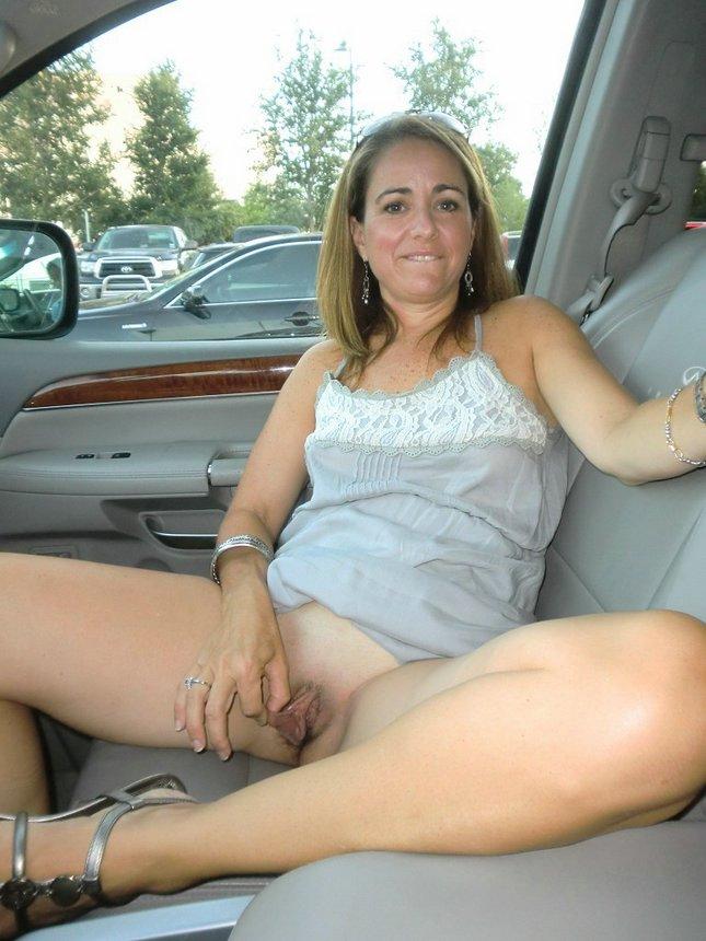 Nude mature upskirt