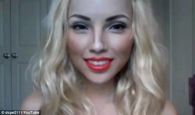 Beautiful amateur blond