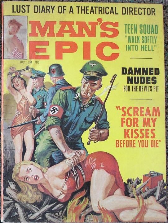 Nazi bdsm drawings vintage