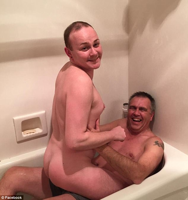 Dad and son nude