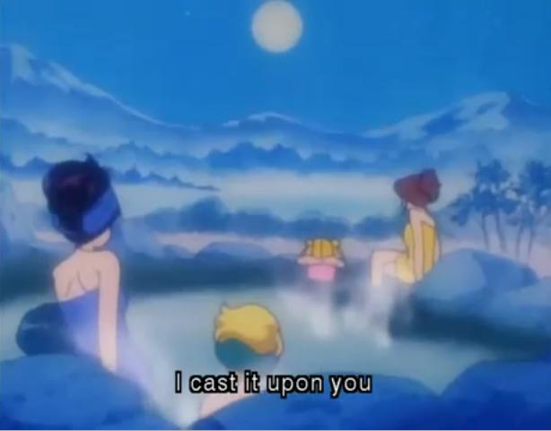 Kagome higurashi anime bath