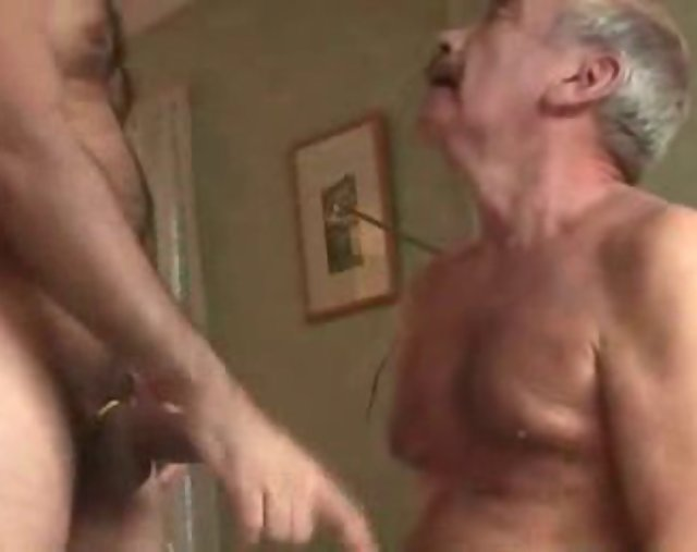 Gay sex older man silver