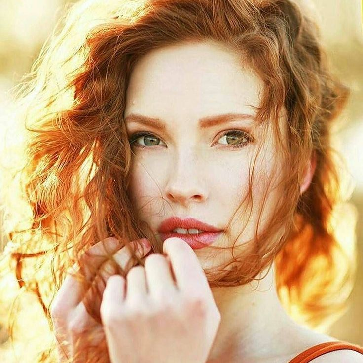 Skinny pale redhead girl naked