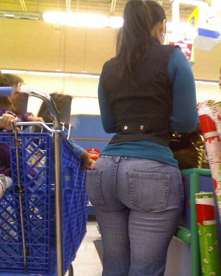 Big ass milf tight jeans