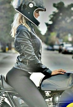 Thong on motorcycle porn