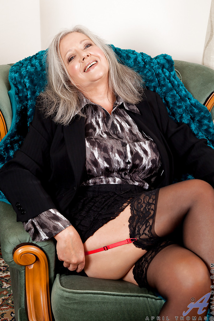 April thomas mature milf
