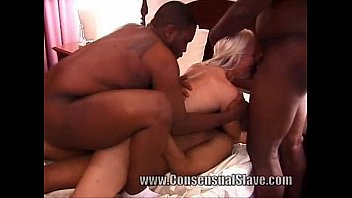White wife black cock slut is slave