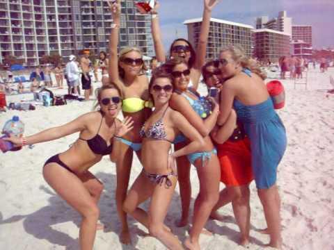 Panama city beach spring break girls