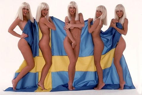 Hairy swedish girls