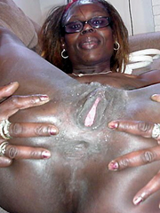 Nude black women anal sex