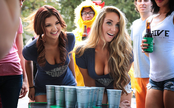 beer pong Strip