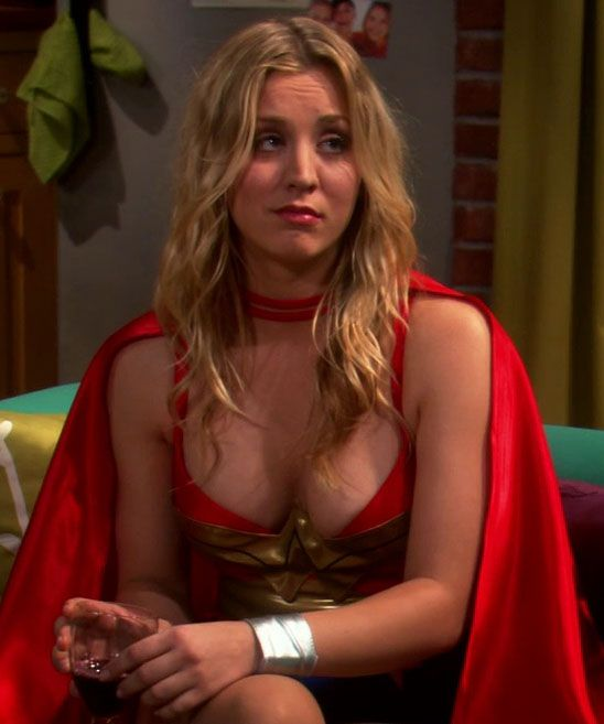 Big bang kaley cuoco naked