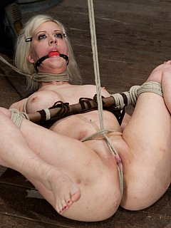 frog sex for Girl tied