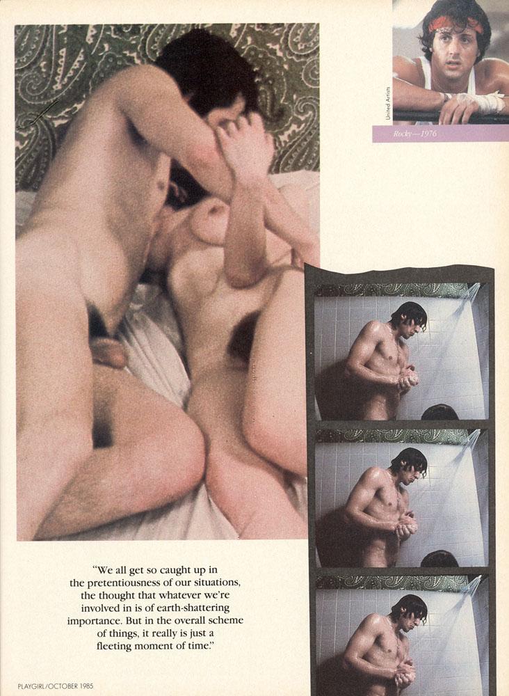 Nude stallone sylvester porn