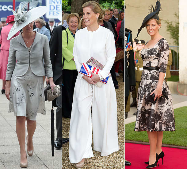 Countess sophie wessex fashion