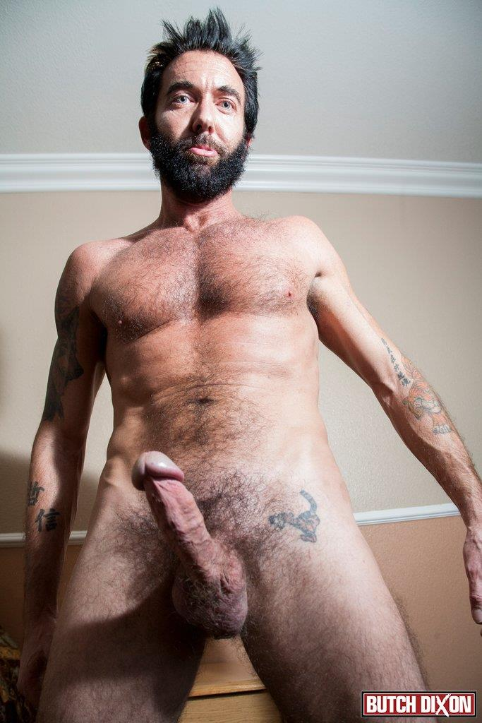 Butch dixon hairy gay cock