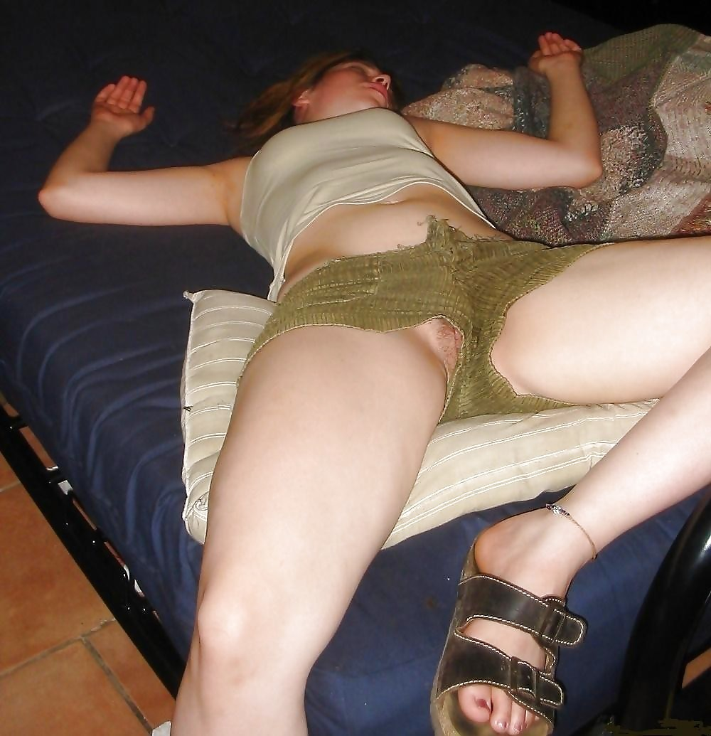 Oops up shorts pussy