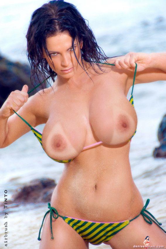 Naked denise milani porn