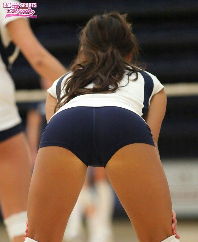 asses girls Sexy volleyball