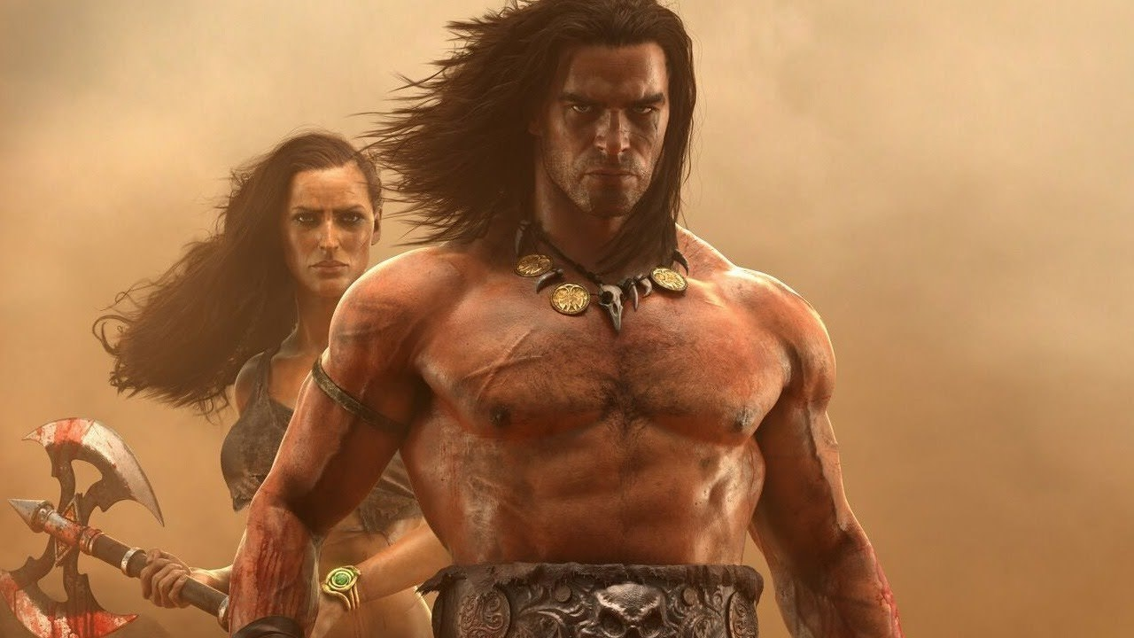 Age of conan characters naked