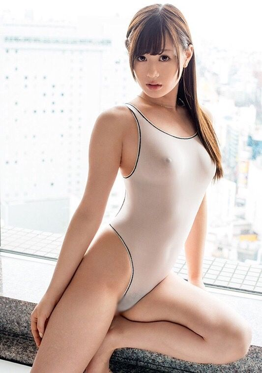 Sexy asian girls in tight swimsuit