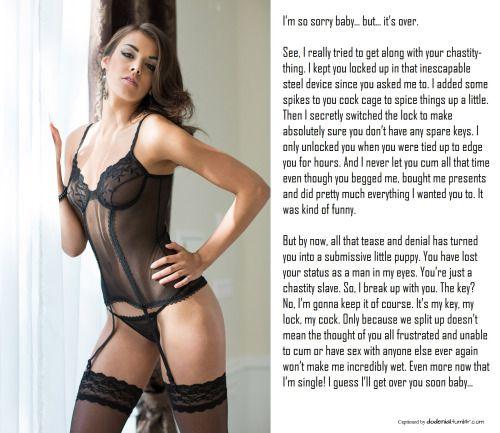 Lingerie stockings feet tease denial chastity