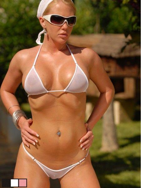 Malibu strings bikini thong
