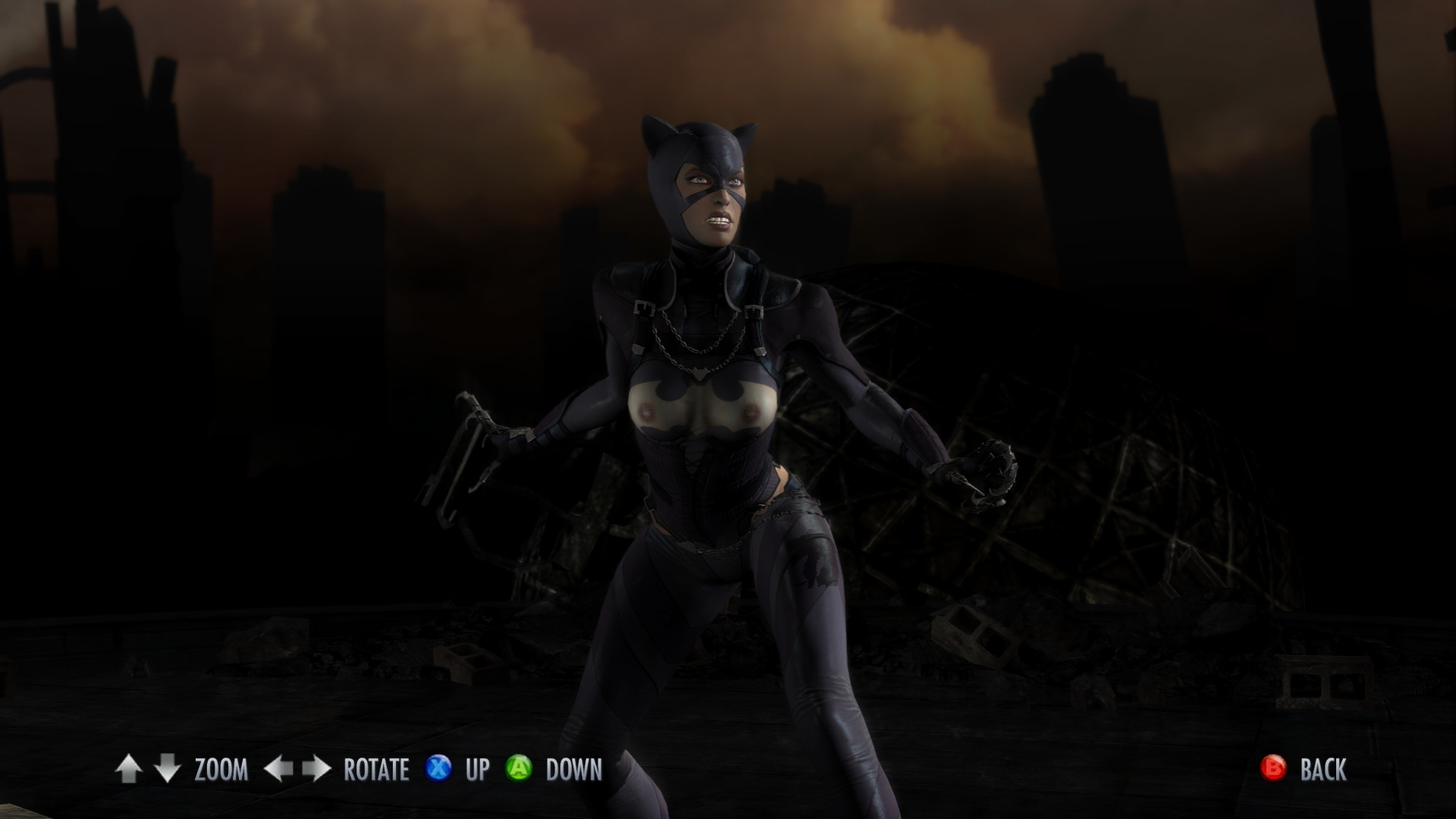Injustice gods among us nude