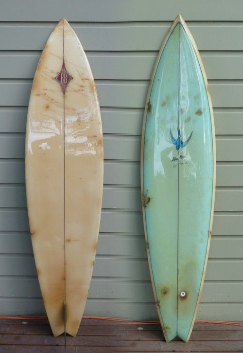 Vintage california surf board