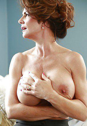 Naked mature grannies big tits