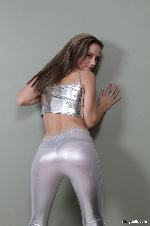 shiny panties Tight