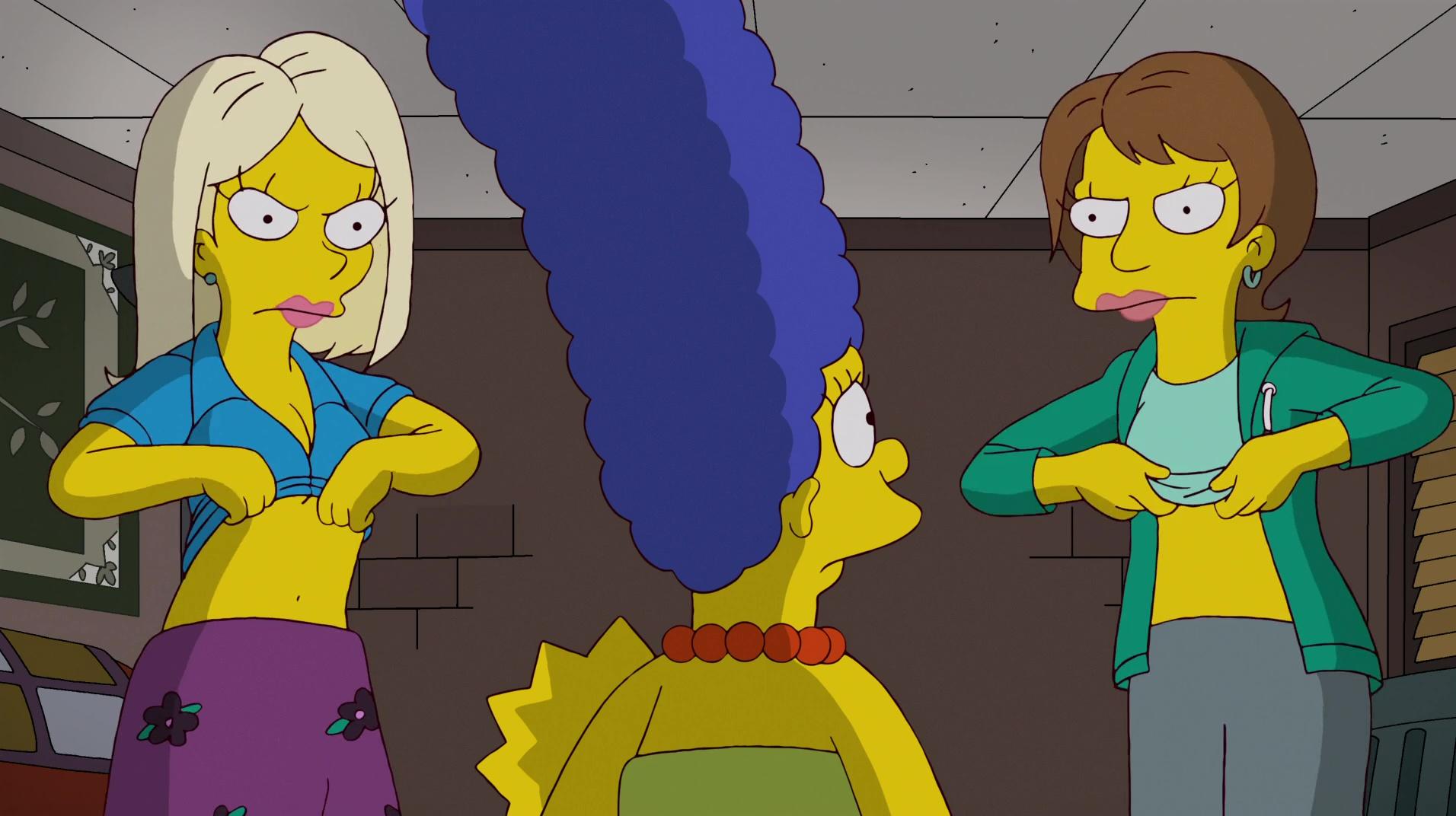Lisa simpson lesbian comics