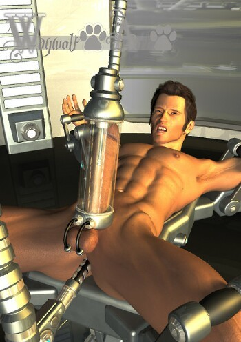 bondage cock milking Gay