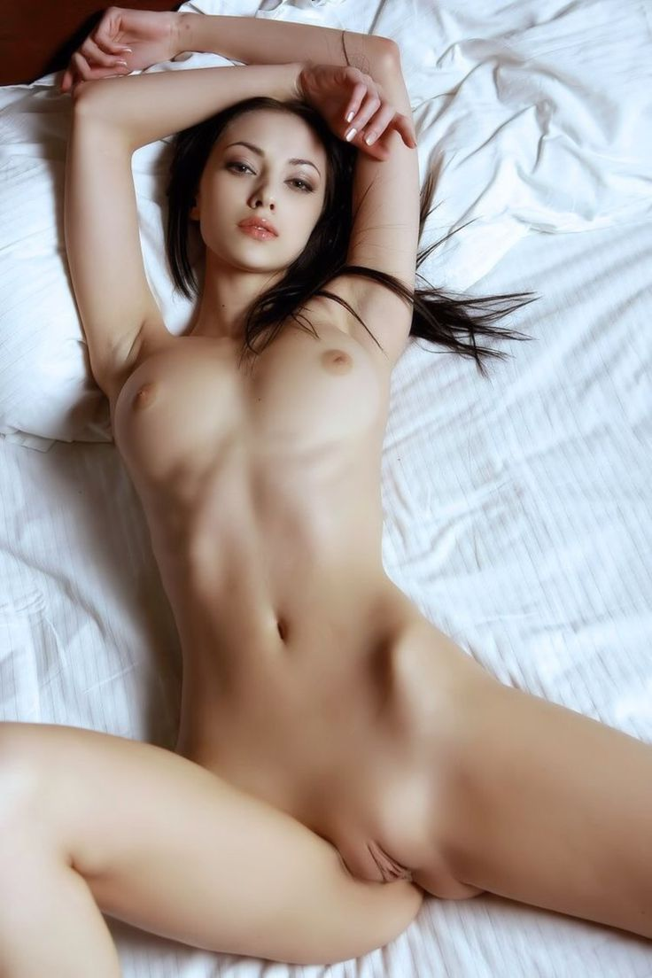Erotic sexy girl nice ass shaved pussy