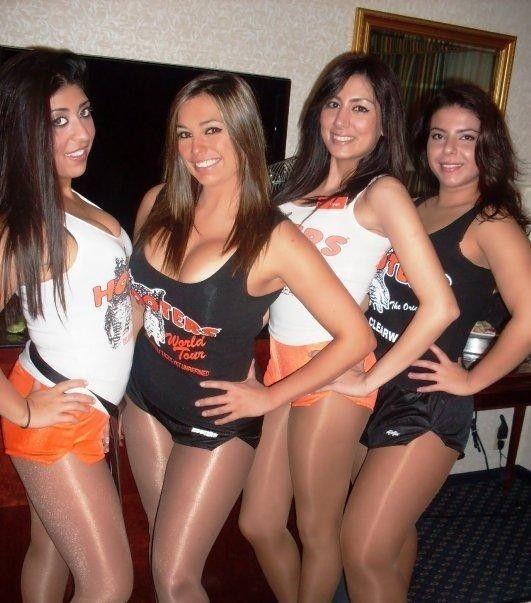 Hot hooters girls pantyhose