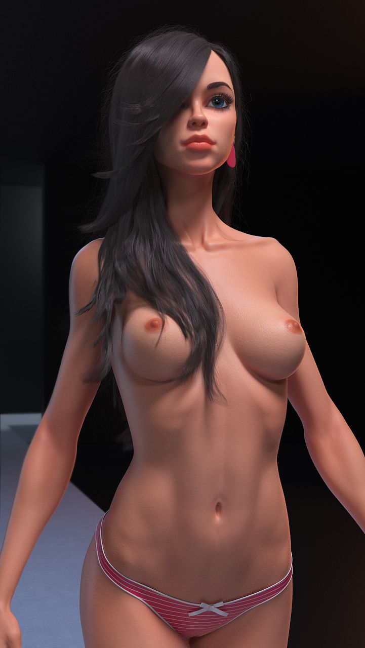 Naked elf woman nude