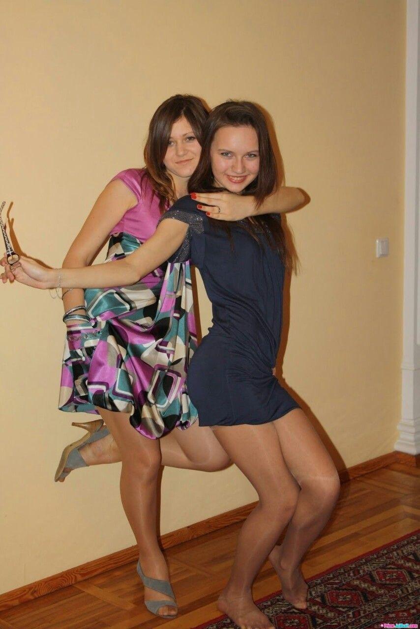 Amateur girls in pantyhose
