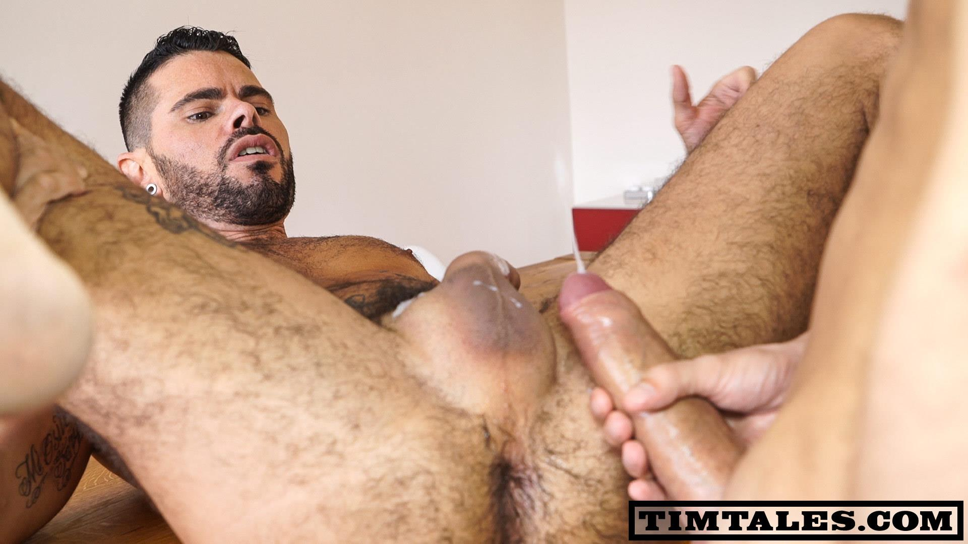 Huge uncut cock bareback