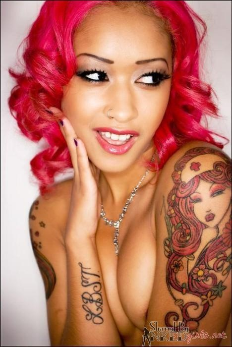 girls exotic Skin diamond