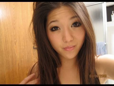 Beautiful asian american teen
