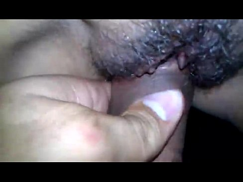 wet creampie Asian hairy pussy