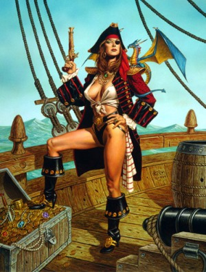 Pirate wench nude