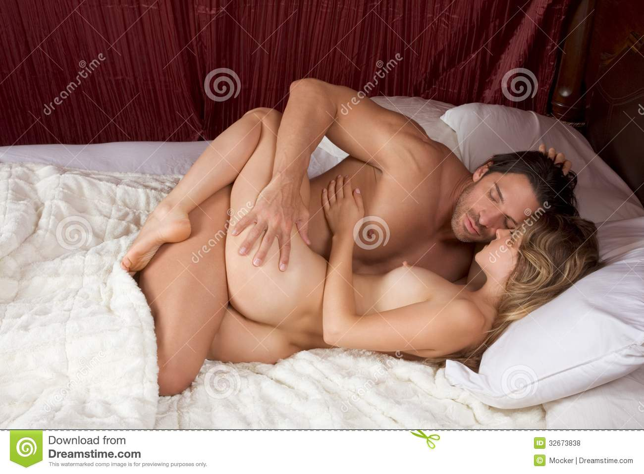 Nude couples having sex naked