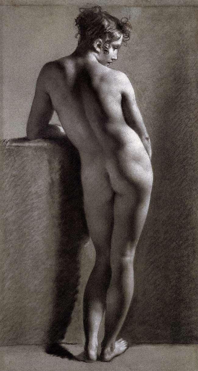 Paul prud hon female nude